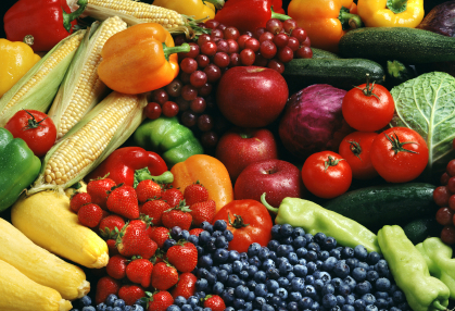 Antioxidants from fruits and vegetables.