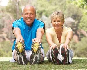 HGH helps older couple be forever young